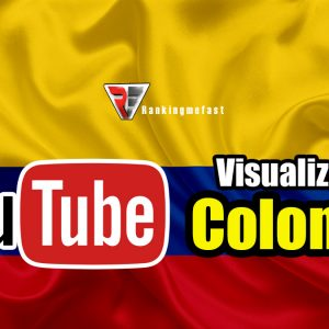 comprar visualizaciones de Colombia para youtube