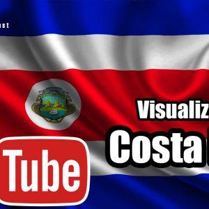comprar visualizaciones Youtube de Costa Rica