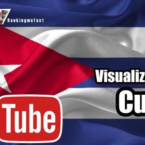 comprar visualizaciones de Cuba para Youtube