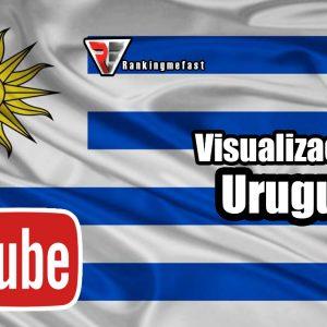 comprar visualziaciones de Uruguay para Youtube